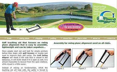 Golf Swing Aligner